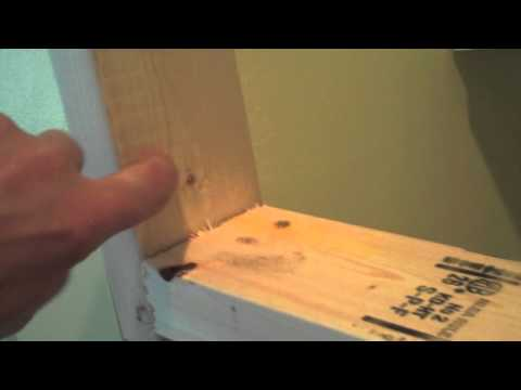 Cabinet Install Trick