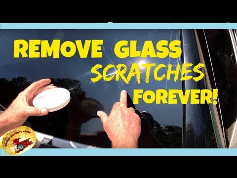 REMOVE BAD SCRATCHES IN GLASS !  PERMANENTLY !!!