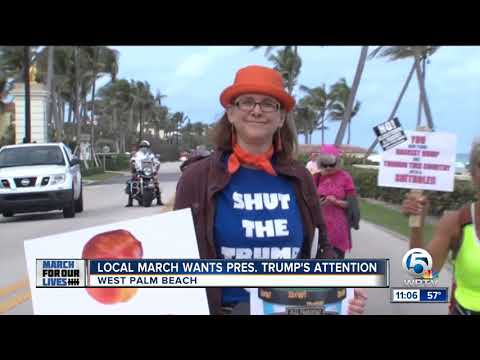 West Palm's March for Our Lives hopes to capture President's attention