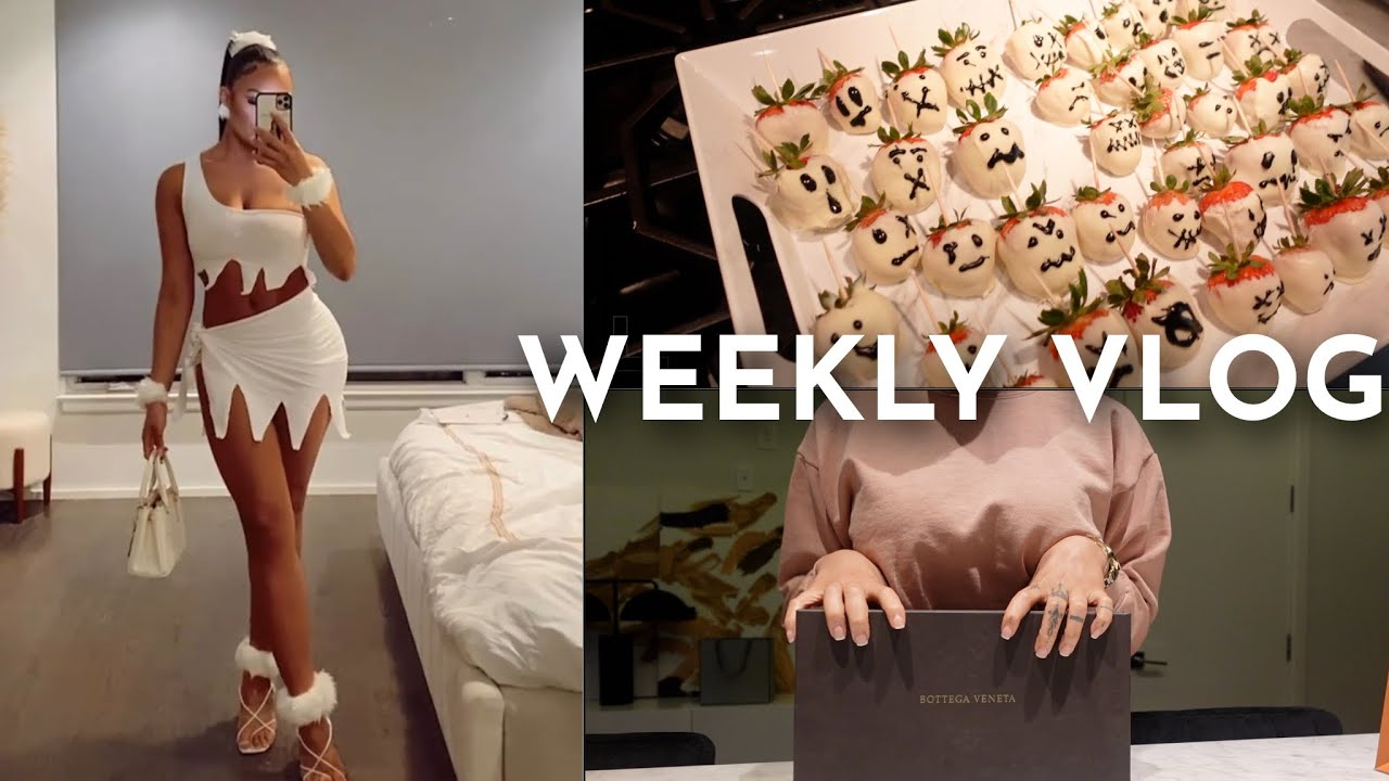 WEEKLY VLOG | WINERY DATE + HALLOWEEN FESTIVITIES + FRIENDS + SHOPPING + MORE | ALLYIAHSFACE