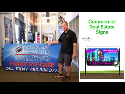 Commercial Real Estate Signs | Windigo Signs | Business Signs