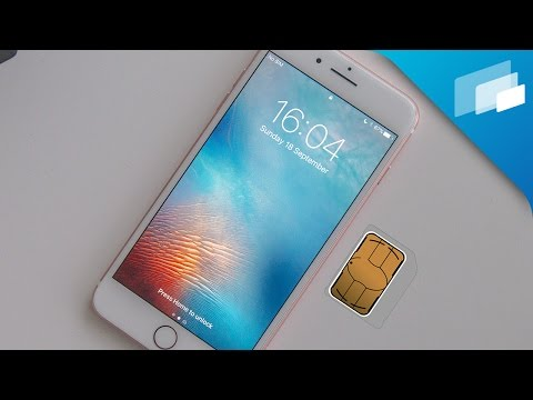 iPhone 7 / 7 Plus: How to insert & remove SIM card
