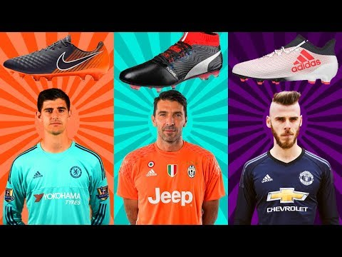 Top 20 Goalkeepers And Their Boots II 2018 II
