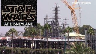 Disneyland - 8/25/17 Star Wars: Galaxy's Edge Construction Update