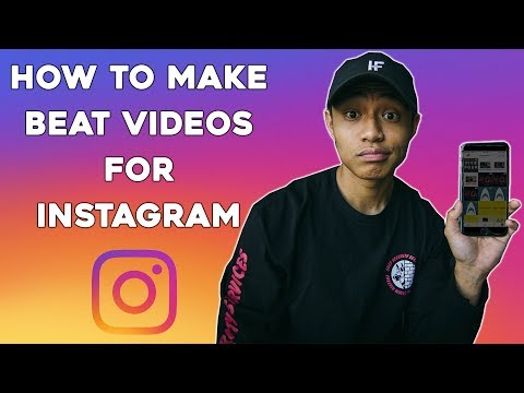 The BEST way to make BEAT VIDEOS for INSTAGRAM | 2018
