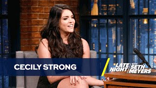 Download Cecily Strong Has Sympathy for Melania Trump Video