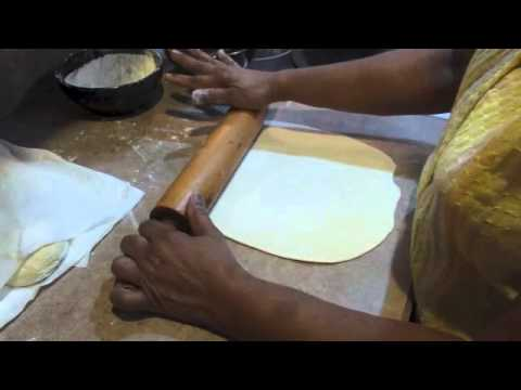 Guyanese roti, advice and politics