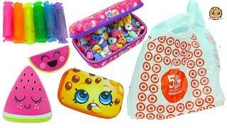 Target Haul - Shopkins Dollar Items, Back To School, Num Noms  - Cookie Swirl C Video