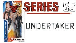 WWE FIGURE INSIDER:  Undertaker - WWE Series 55 Toy Wrestling Figure from Mattel