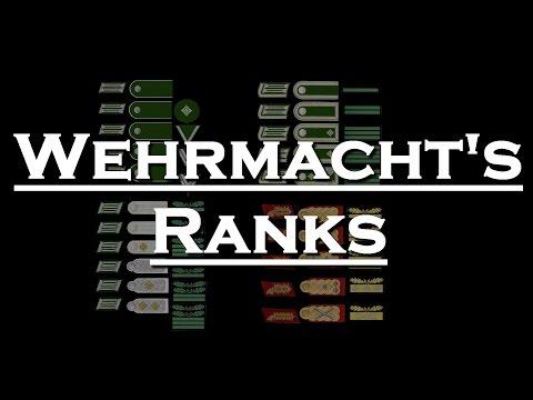 TUTO - Les Grades de la Wehrmacht