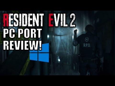 Resident Evil 2 - PC Port Review