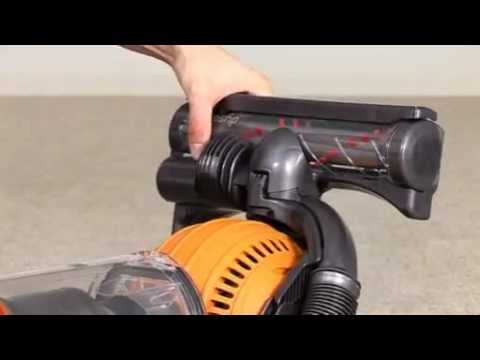 Dyson DC25 and DC29 - Replacing the cleaner head (Official Dyson video)