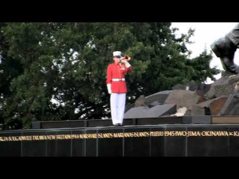 US Marines!!  Sunset Parade Part II -Parades