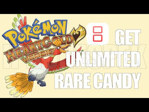 How to get unlimited Rare Candy Pokemon Heart Gold iNDS iOS 11 10 9 iPhone iPad