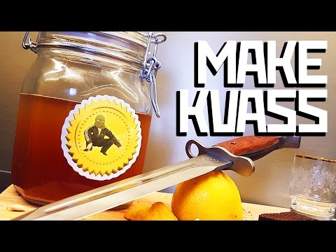 How to make Kvass - Cooking with Boris
