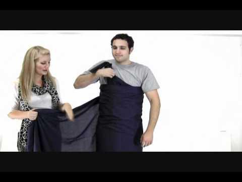 How to Make a Toga- Bed Sheet Toga