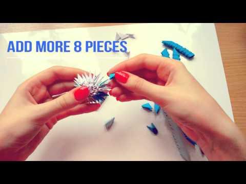 3D Origami Easter Egg - Tutorial