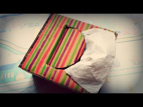 DIY crafts: How To Make Your Own Tissue Paper Dispenser | Maison Zizou