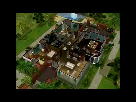 The Sims 2 - Agranda House Building Process