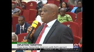 Inflation Targeting - Business Live on JoyNews (22-2-18)
