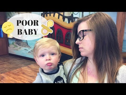 BABY'S FIRST STOMACH BUG | Daily Vlog 2018