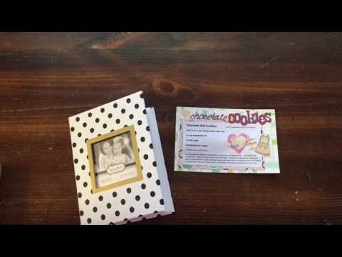 Mothers day 30 days of gift ideas #20 recipe book with handmade recipe cards