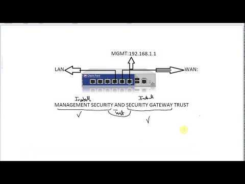 Configure Trust Between Checkpoint Firewall Management and Gateway - Part 4