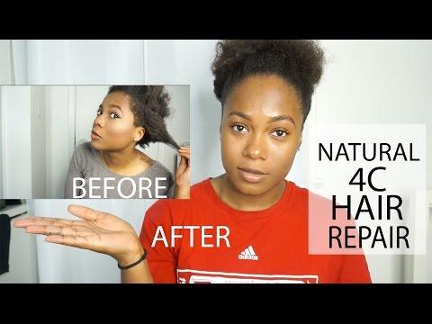 Natural 4C Hair Repair