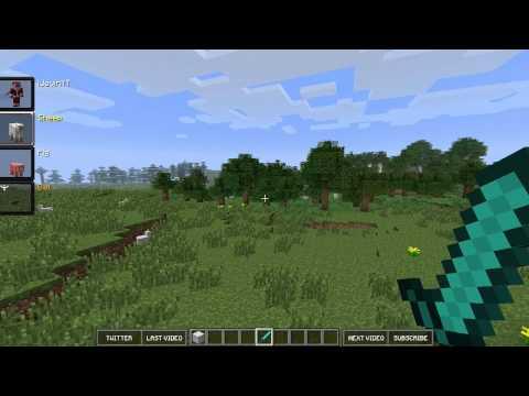 Minecraft Mod Showcase: MORPH MOD! (MC 1.6.4)
