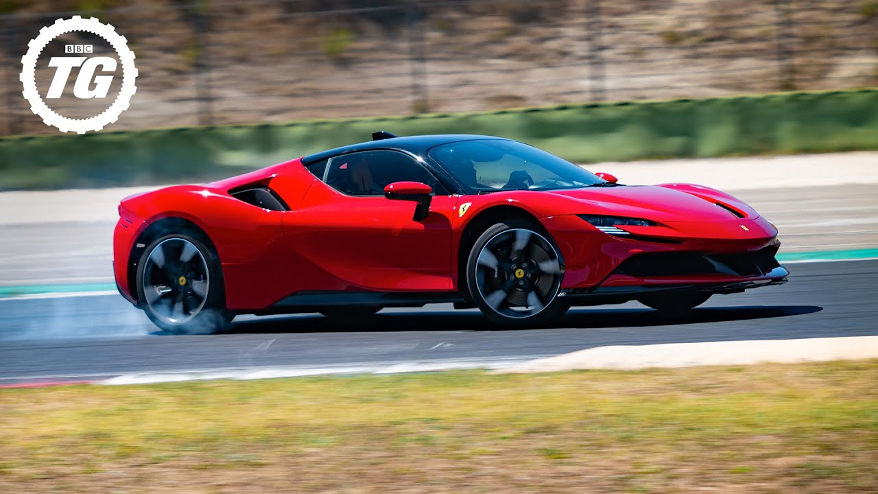FULL REVIEW: Chris Harris vs the 986bhp hybrid Ferrari SF90   Top Gear: Series 29