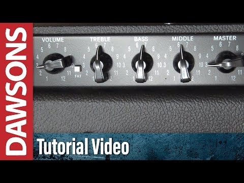 How to dial in the 'sweet spot' on an amp