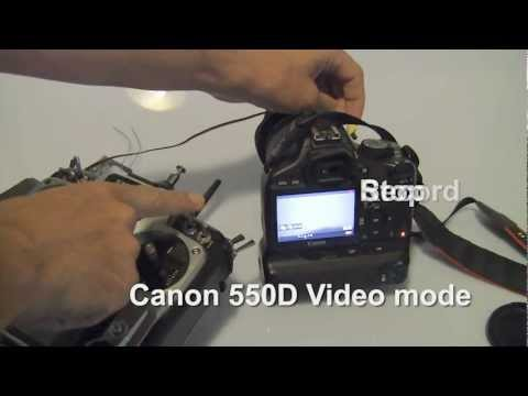 R/C Video and Photo Shutter for Canon EOS 550D