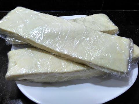Puff Pastry Sheet Dough recipe/How to make puff Pastry sheet dough/perfect recipe#136