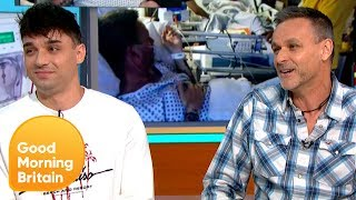 A Fathers Secret Kidney Donation to Save His Son's Life | Good Morning Britain