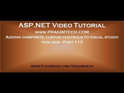 Adding composite custom controls to visual studio tool box   Part 113