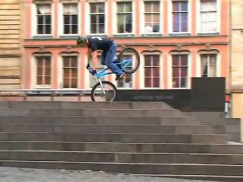 Danny MacAskill Bike Stunts Street Mountain Bike Incredible BMX style