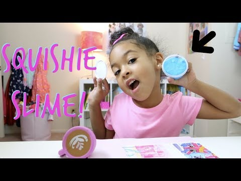 SLIME UNBOXING!!!!! + SQUISHIES!!!!