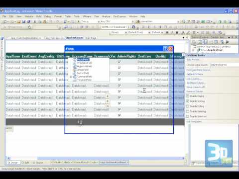 ASP.NET Gridview, dropdownlist, insert (1 of 2)