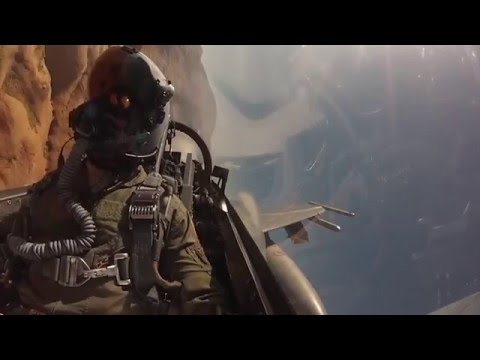 Training an F-16 pilot at Luke Air Force Base