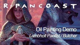 Magic: The Gathering Illustration: Lambholt Pacifist/butcher