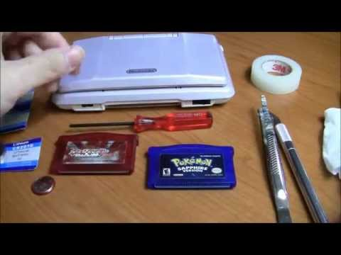 Replacing Game Boy Advance Cartridge Battery (solderless)