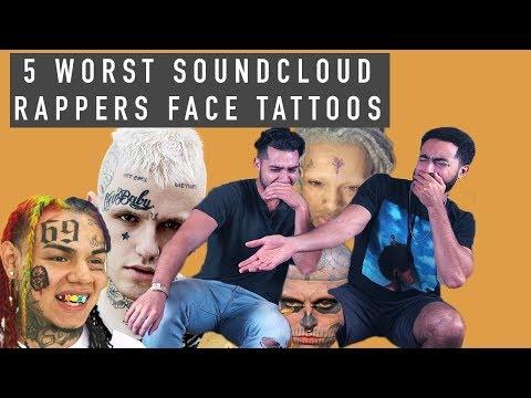 Face Tattoos: Soundcloud Rapper Edition