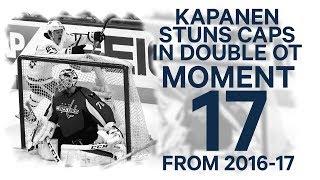 No 17/100: Kapanen stuns Capitals in double OT