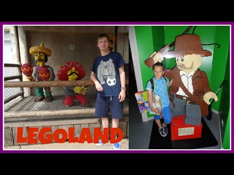 A VISIT TO LEGOLAND WITH MY COUSIN