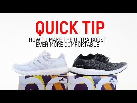 Quick Tip: How to Make the Ultra Boost Even More Comfortable