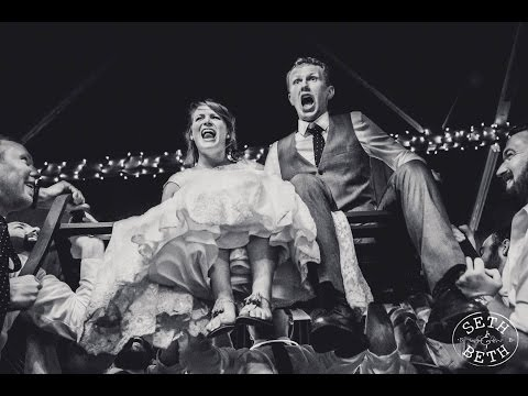 Annie and Braeden's Barn Wedding at Brookside Farms in Louisville Ohio by Seth and Beth