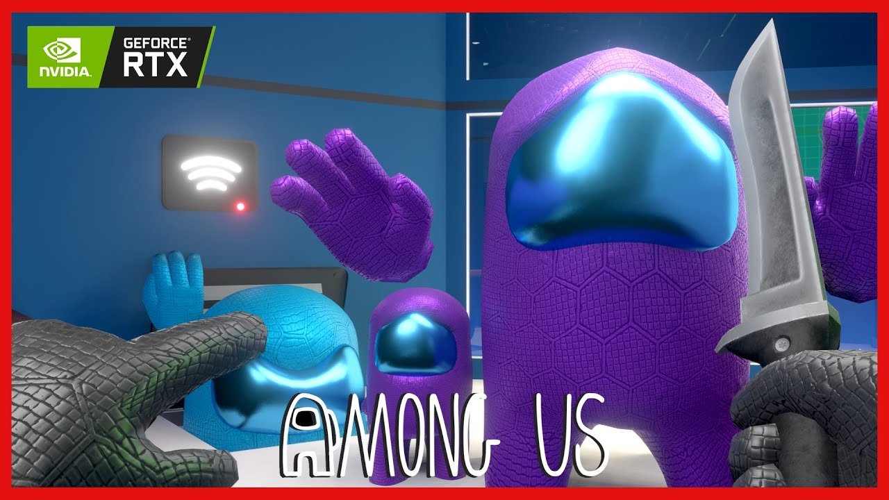 AMONG US 3D ANIMATION - THE IMPOSTOR LIFE #2