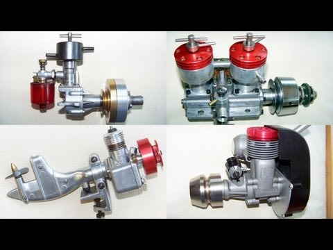 Model engine collection: nitro, 4 stroke, diesel, outboard, marine, RC motors and more !