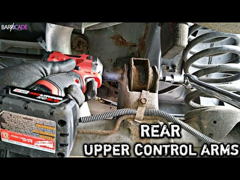 REAR UPPER CONTROL ARM REPLACEMENT (JEEP ZJ)