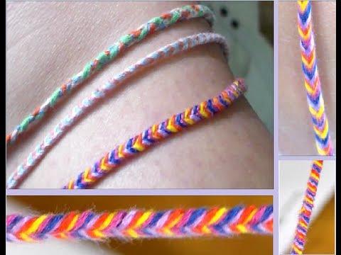 DIY: Fishtail Braided Bracelet/Anklet
